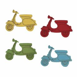 Decorazione scooter colori assortiti 30 pz